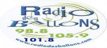 من البالونات راديو