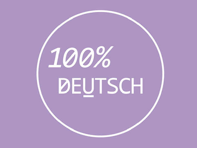 100% Deutsch