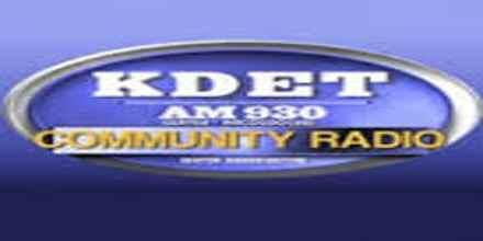 KDET 930 AM