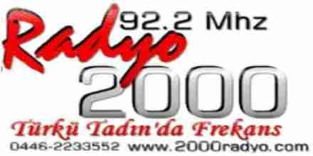 راديو 2000 92.2
