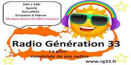 Radio Generation 33