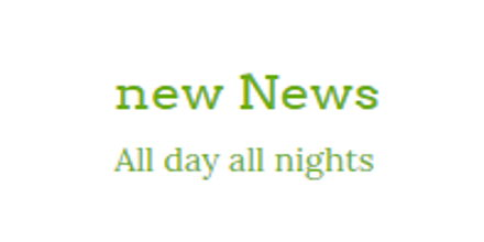 New News Online