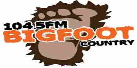 Bigfoot Country 104.5