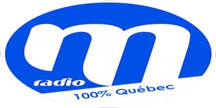 """<span lang =""""fr"""">M Radio 100% Quebec</span>"""