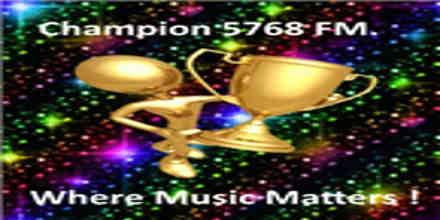 Champion 5768 FM