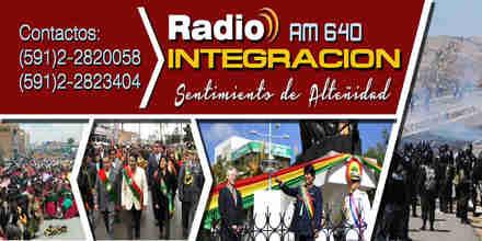 """<span lang =""""es"""">Radio Integracion AM 640</span>"""