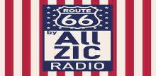 """<span lang =""""fr"""">Allzic Radio Route 66</span>"""