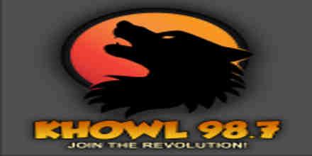 KHOWL 98.7 FM
