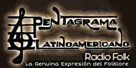 Pentagrama Latinoamericano Radio Folk