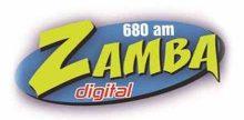 """<span lang =""""es"""">Radio Zamba 680 AM</span>"""