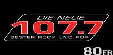 """<span lang =""""de"""">Die Neue 107.7 80er Radio</span>"""