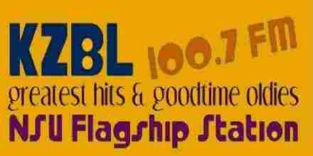 KZBL 100.7 FM
