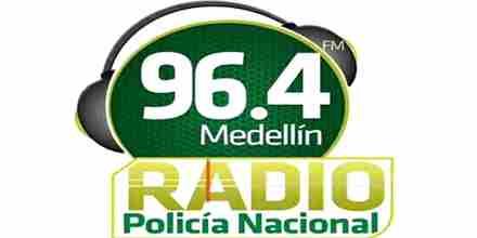 Policia Nacional Medellin 96.4
