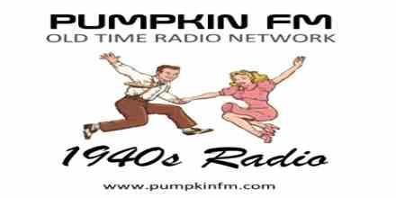 Pumpkin FM 1940s Radio