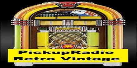 Pickup Radio Retro Vintage