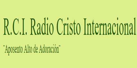 RCI Radio Cristo Internacional