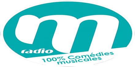 """<span lang =""""fr"""">M Radio 100% Comedies Musicales</span>"""