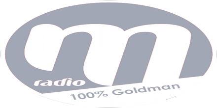 """<span lang =""""fr"""">M راديو 100% Goldman</span>"""