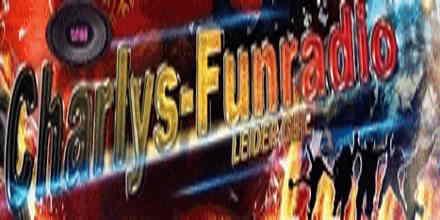 """<span lang =""""de"""">Charlys Funradio</span>"""