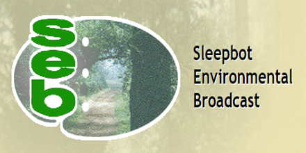 SEB Sleepbot Environmental Broadcast