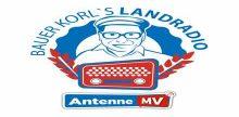 """<span lang =""""de"""">Antenne MV Bauer Korls Landradio</span>"""