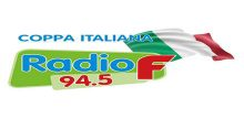 """<span lang =""""de"""">Radio F 94.5 – Coppa Italiana Italo Hits</span>"""