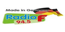 "<span lang =""de"">Radio F 94.5 – Made in Germany</span>"