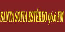 "<span lang =""es"">Santa Sofia Stereo 96.6 FM</span>"